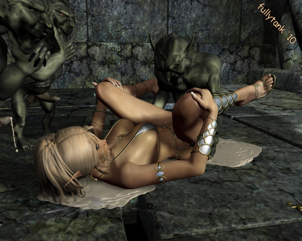 Goblins sex girls erotic picture