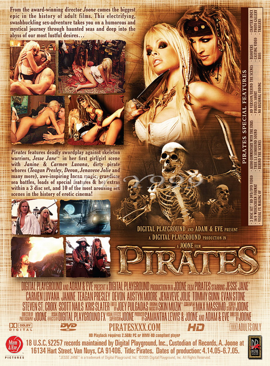 Adult pirates movie scenes cartoon toons