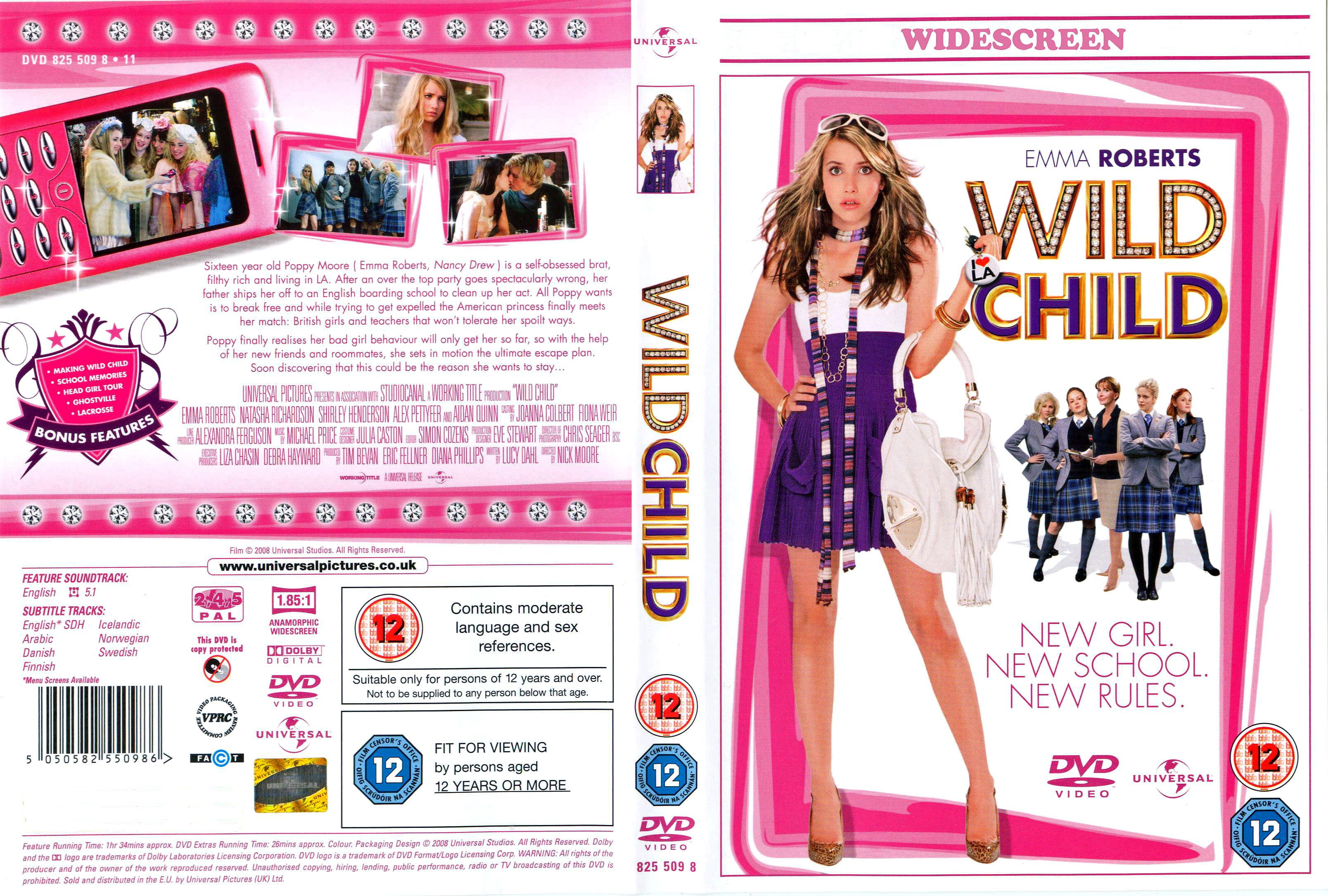 Movie wild child soundtrack