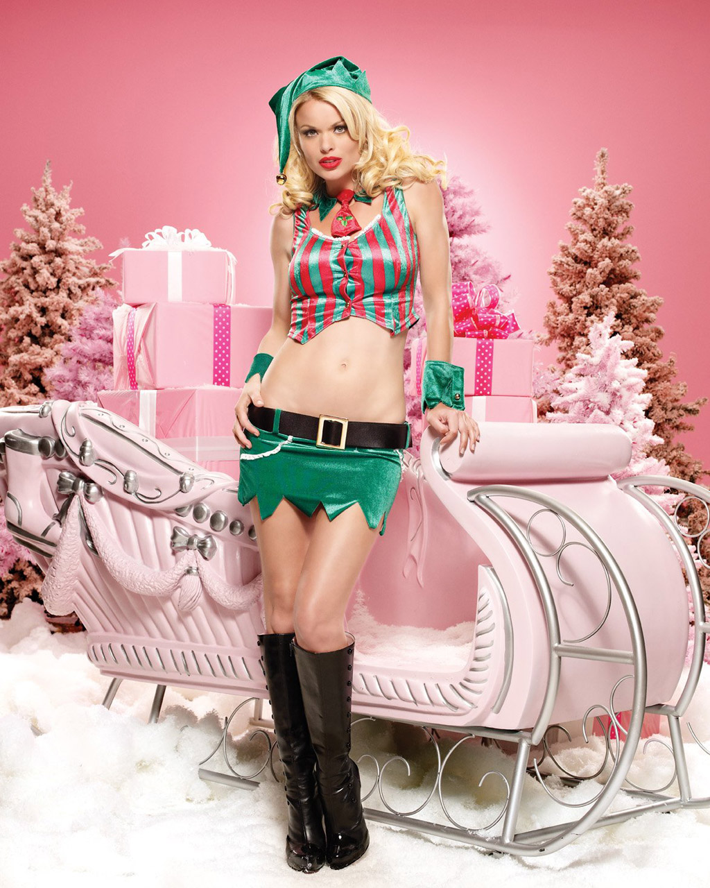 Sexy christmas elf nudes movie
