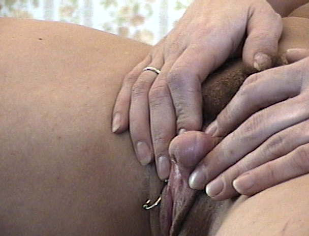 Women nude clitoris she