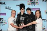 PICS; Tokio Hotel MTV EMA 2009 pictures - Red carpet/Award