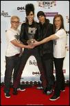 PICS; Tokio Hotel pictures - 2009 MTV EMA performance