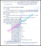 Đáp án đề thi tốt nghiệp THPT 2011 môn Toán -